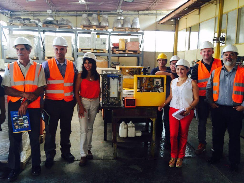 Febrero 2016 – Visita de funcionarios de PROM PERU y directivos de Mineros S.A. de Colombia